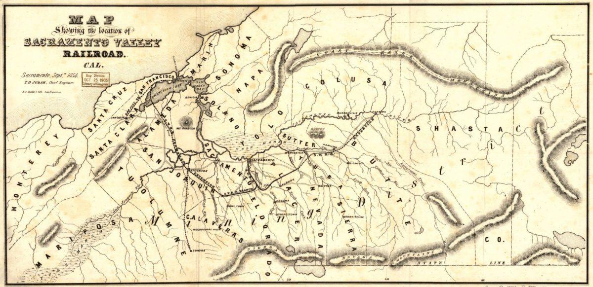 The Historic Placerville Branch Placerville Sacramento Valley