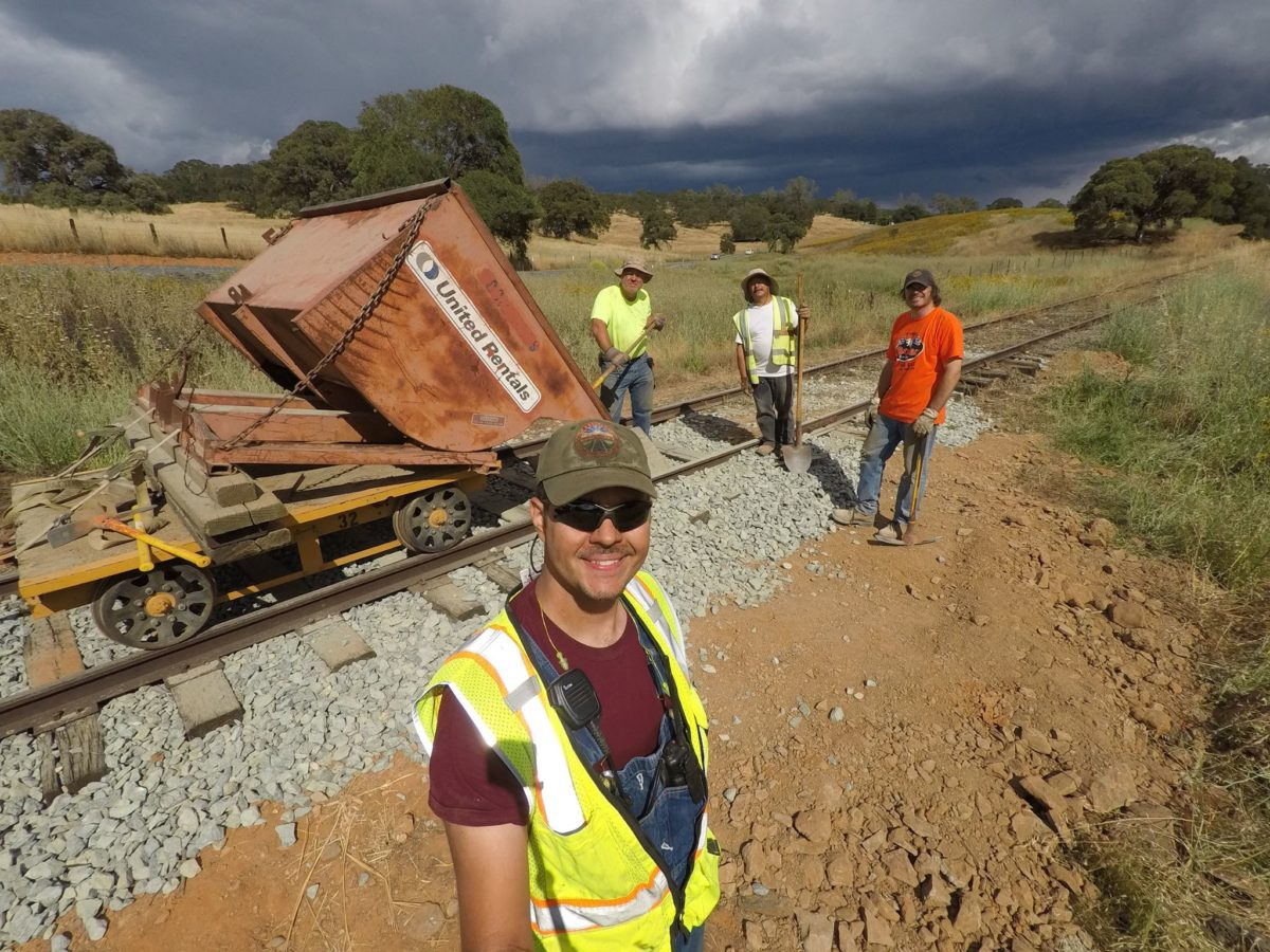 Partial Track Repairs Completed in El Dorado County